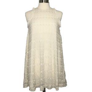 3.1 Philip Lim White Lace Sleeveless Dress